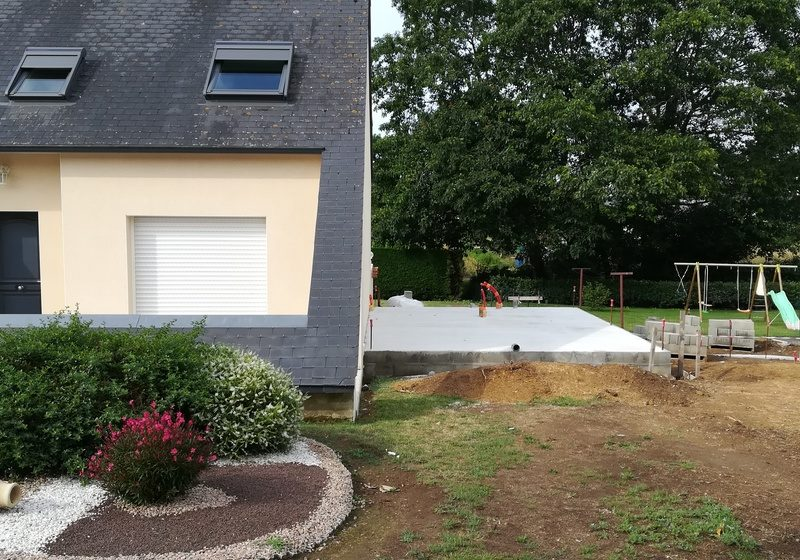 fondation extension maison