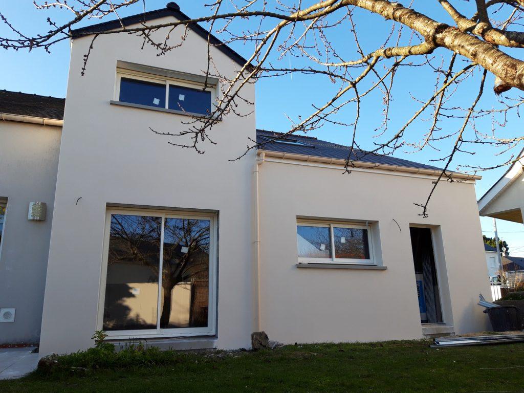 extension de maison à Nantes