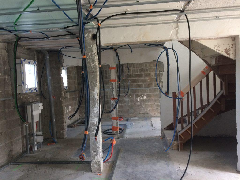 intérieur travaux maison