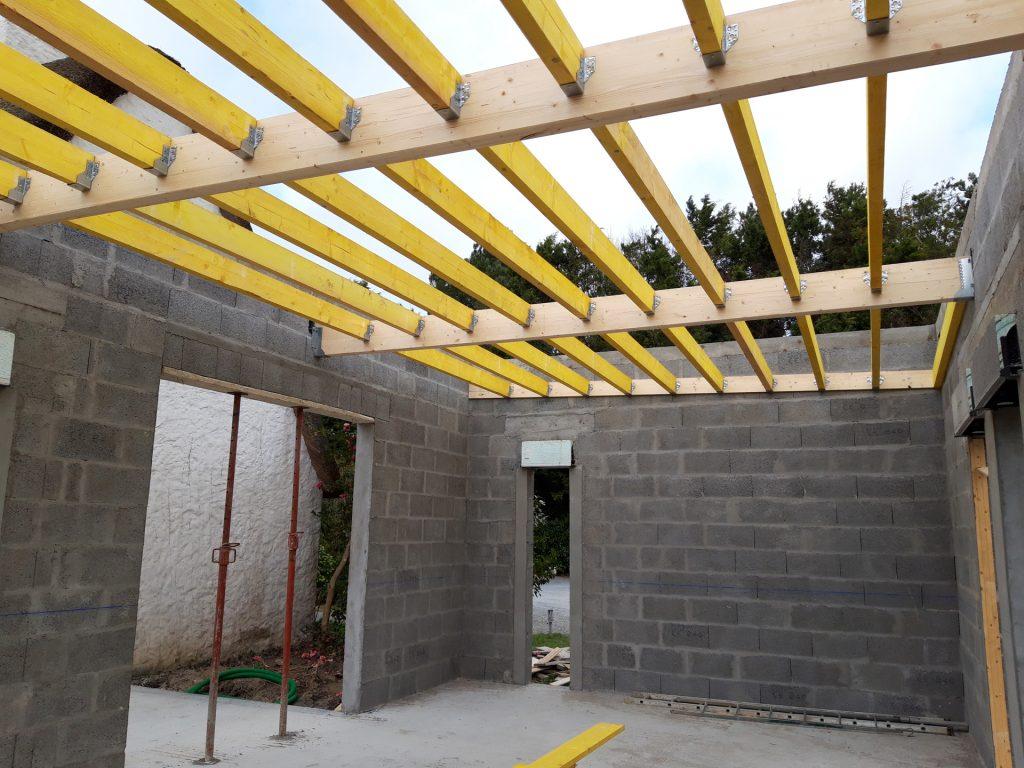 chantier extension maison